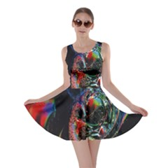 Abstraction Dive From Inside Skater Dress