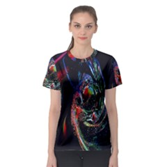 Abstraction Dive From Inside Women s Sport Mesh Tee