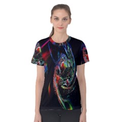 Abstraction Dive From Inside Women s Cotton Tee