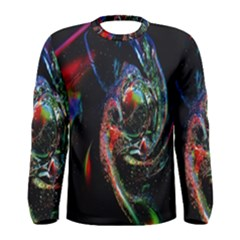 Abstraction Dive From Inside Men s Long Sleeve Tee