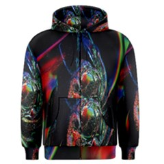 Abstraction Dive From Inside Men s Zipper Hoodie
