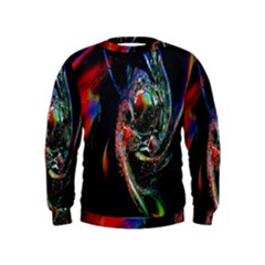 Abstraction Dive From Inside Kids  Sweatshirt