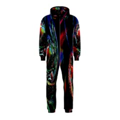 Abstraction Dive From Inside Hooded Jumpsuit (Kids)