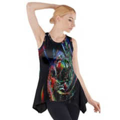 Abstraction Dive From Inside Side Drop Tank Tunic