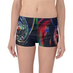 Abstraction Dive From Inside Reversible Bikini Bottoms