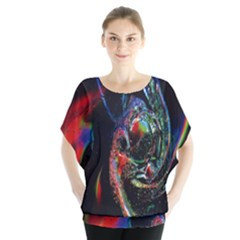 Abstraction Dive From Inside Blouse