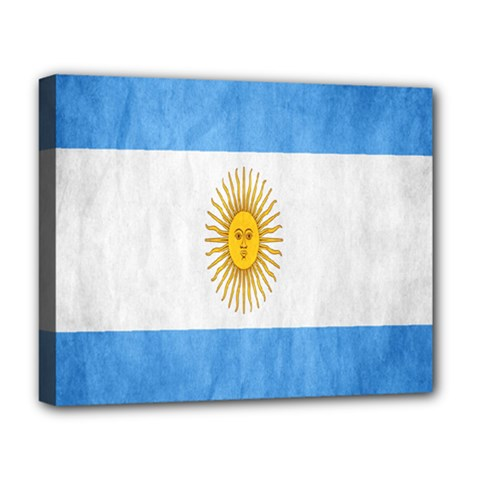 Argentina Texture Background Deluxe Canvas 20  x 16