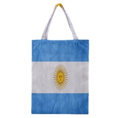 Argentina Texture Background Classic Tote Bag