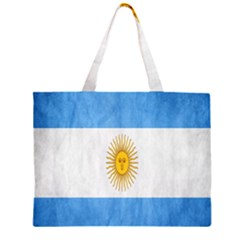 Argentina Texture Background Large Tote Bag