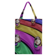 Balloons Colorful Rainbow Metal Classic Tote Bag