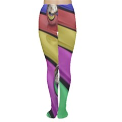 Balloons Colorful Rainbow Metal Women s Tights
