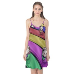 Balloons Colorful Rainbow Metal Camis Nightgown