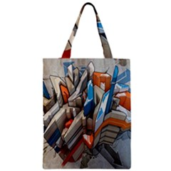 Abstraction Imagination City District Building Graffiti Classic Tote Bag