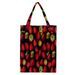 Berry Strawberry Many Classic Tote Bag