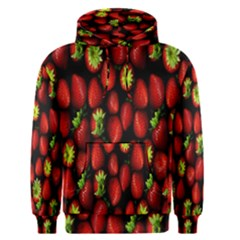 Berry Strawberry Many Men s Pullover Hoodie