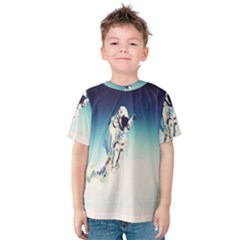 astronaut Kids  Cotton Tee