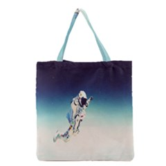 Astronaut Grocery Tote Bag