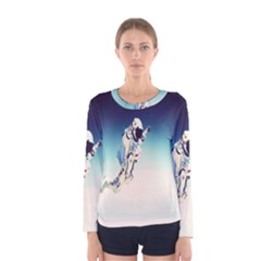 astronaut Women s Long Sleeve Tee