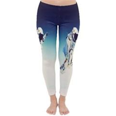 astronaut Classic Winter Leggings
