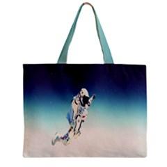 astronaut Zipper Mini Tote Bag