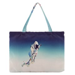 Astronaut Medium Zipper Tote Bag
