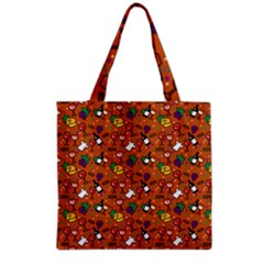 Wine Cheede Fruit Purple Yellow Orange Grocery Tote Bag
