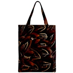 Feathers Bird Black Classic Tote Bag