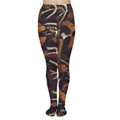 Feathers Bird Black Women s Tights