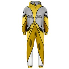 Cheese Mose Yellow Grey Hooded Jumpsuit (Men)