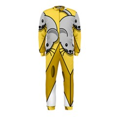 Cheese Mose Yellow Grey OnePiece Jumpsuit (Kids)