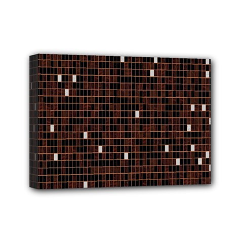 Cubes Small Background Mini Canvas 7  x 5