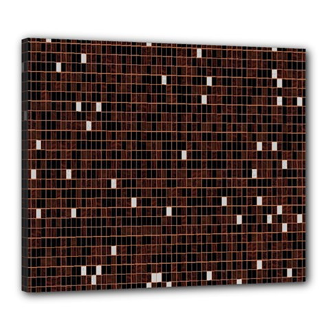 Cubes Small Background Canvas 24  X 20