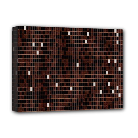 Cubes Small Background Deluxe Canvas 16  x 12