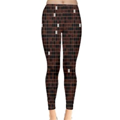 Cubes Small Background Leggings