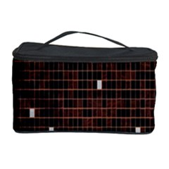 Cubes Small Background Cosmetic Storage Case