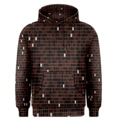 Cubes Small Background Men s Pullover Hoodie