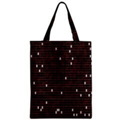 Cubes Small Background Zipper Classic Tote Bag