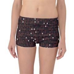 Cubes Small Background Boyleg Bikini Bottoms
