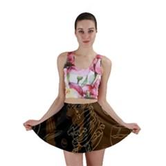 Coffe Break Cake Brown Sweet Original Mini Skirt