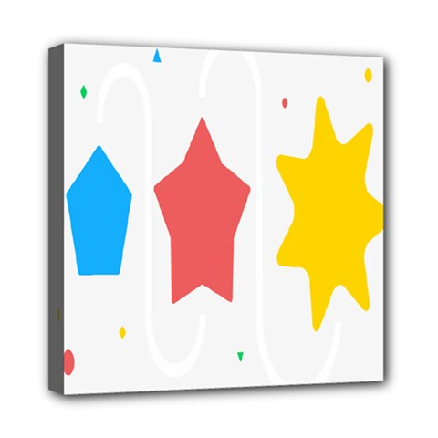 Evolution Jumsoft Star Mini Canvas 8  x 8
