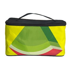 Fruit Melon Sweet Yellow Green White Red Cosmetic Storage Case
