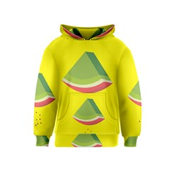 Fruit Melon Sweet Yellow Green White Red Kids  Pullover Hoodie