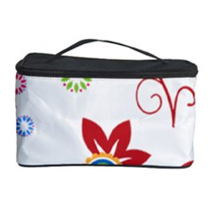 Floral Flower Rose Star Cosmetic Storage Case
