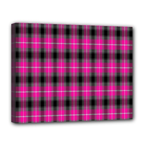 Cell Background Pink Surface Canvas 14  x 11