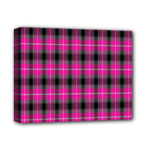 Cell Background Pink Surface Deluxe Canvas 14  x 11