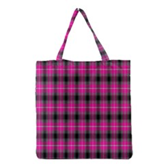 Cell Background Pink Surface Grocery Tote Bag
