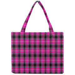 Cell Background Pink Surface Mini Tote Bag