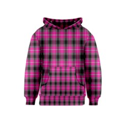 Cell Background Pink Surface Kids  Pullover Hoodie