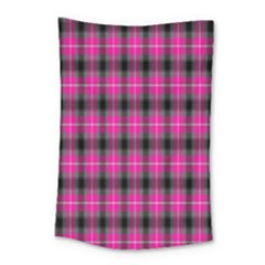 Cell Background Pink Surface Small Tapestry