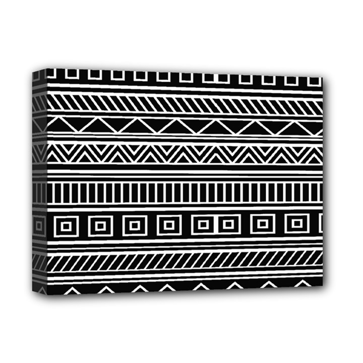 Myria Wrapping Paper Black Deluxe Canvas 16  x 12